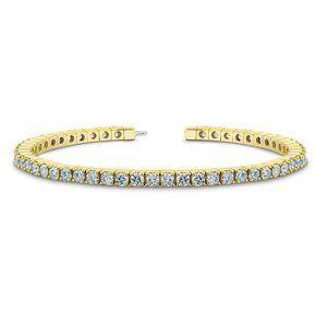 6 Round Diamond Tennis Bracelet D/E/Vvs2 50 Stones